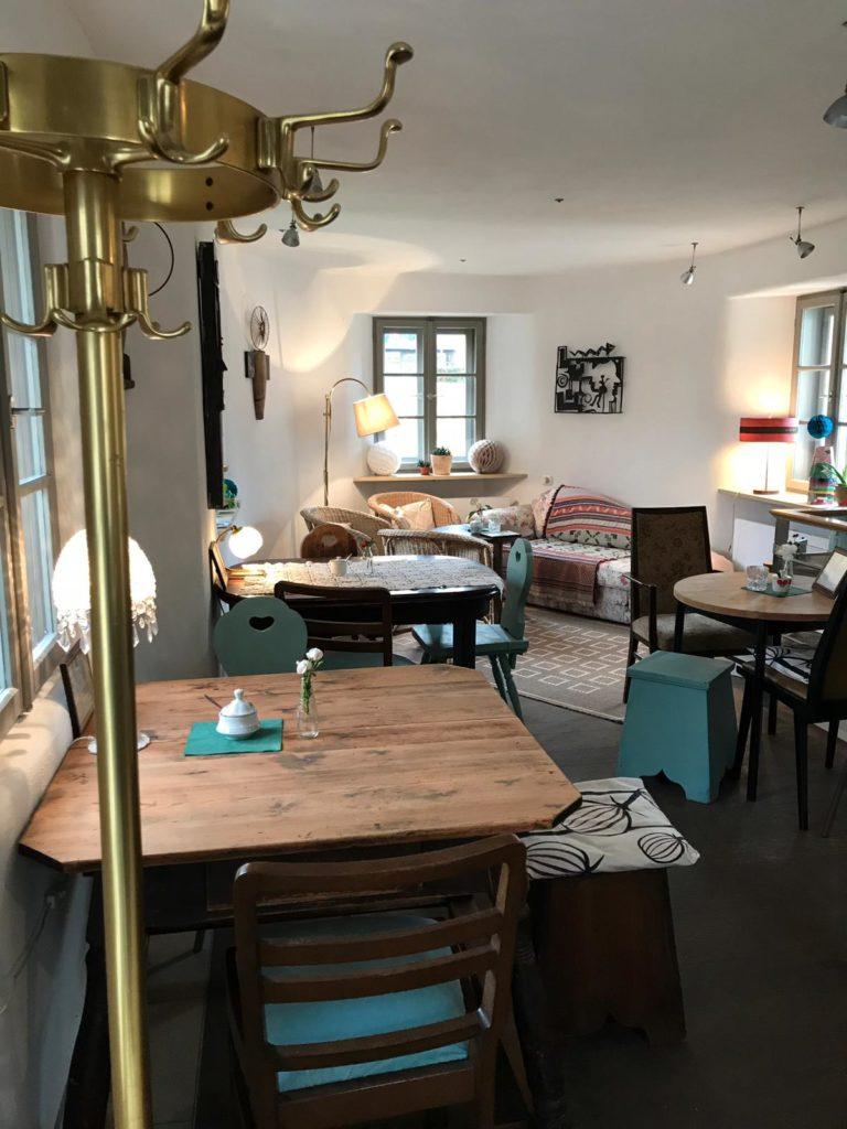 Vintage Cafe in Neumarkt Innenraum