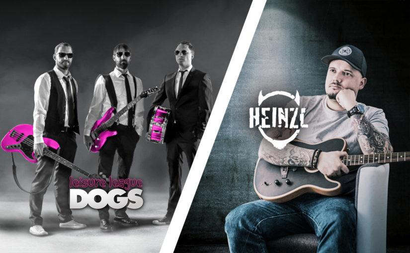 Leisure League Dogs & Heinzl – Live Rock & Punk
